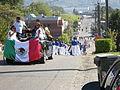 Seattle - Fiestas Patrias Parade 2008 - Denny Middle School band descending Henderson.jpg