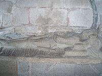 Sepulcro gótico en una de las capillas de la cabecera.JPG