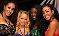 Serena Ali - Brittney Young - Anna Foxx - Amber Steele - 2012 AVN Expo Las Vegas (8454250741).jpg