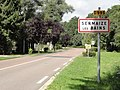 Sermaize-les-Bains (Marne) city limit sign.jpg