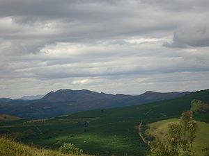 Três Pontas - The Serra de Três Pontas, the highest mountain on the municipality.