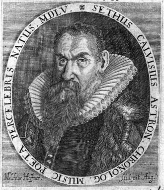 Sethus Calvisius - Sethus Calvisius
