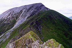 Sgurr a' Mhaim from the Devils Ridge.jpg