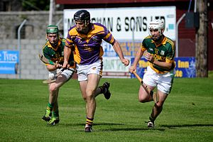 Shane Kavanagh - Shane Kavanagh in action for Kinvara in 2013