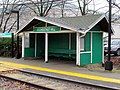Shelter at Chestnut Hill station, December 2015.JPG