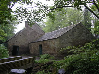 History of Sheffield - The Shepherd Wheel is an example of the water-powered grinding workshops that used to be commonplace in the Sheffield area.