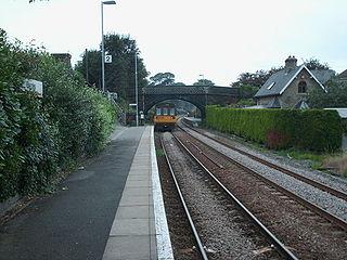 Shepley railway station Railway station in West Yorkshire, England