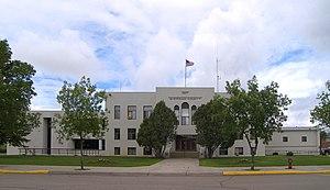 Sheridan County Courthouse in Plentywood