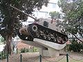 Sherman M50 tank in Tel Aviv.JPG