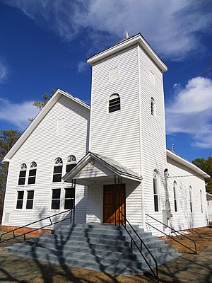 Shiloh Missionary Baptist Church and Rosenwald School - Shiloh Missionary Baptist Church in 2011
