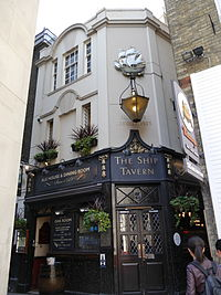 Ship Tavern, Holborn