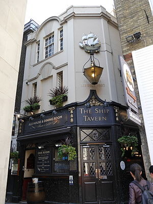 Ship Tavern, Holborn - Ship Tavern, Holborn