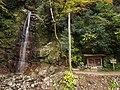 Shojinnotaki Waterfall and Hokora.jpg