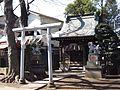 Shokon Shrine (招魂社) in Komatsunagi Shrine (駒繋神社) - panoramio.jpg