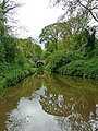 Shropshire Union canal approaching Cheswardine Bridge - geograph.org.uk - 1589442.jpg