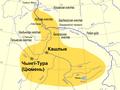 Siberian Khanate map Belarusian.png