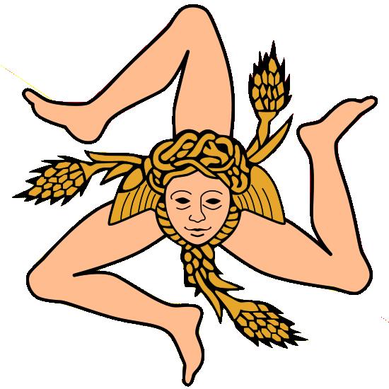 Sicily Triskelion