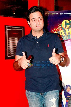 Siddharth Anand - Anand at the special screening of Chaar Sahibzaade: Rise of Banda Singh Bahadur in November 2016