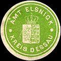 Siegelmarke Amt Elsnigk - Kreis Dessau W0220219.jpg