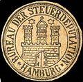 Siegelmarke Bureau der Steuerdeputation - Hamburg W0205453.jpg