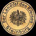 Siegelmarke Der Landrat des Kreises Steinburg W0221544.jpg