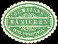 Siegelmarke Gemeinde Hänichen.jpg