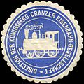 Siegelmarke Königsberg-Cranzer Eisenbahn-Gesellschaft.jpg