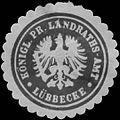 Siegelmarke K.Pr. Landraths-Amt Lübbecke W0387609.jpg