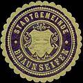 Siegelmarke Stadtgemeinde Braunseifen W0317686.jpg