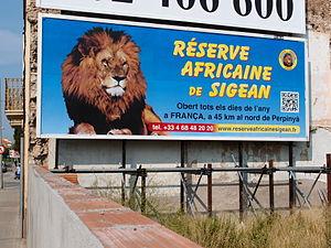 Réserve Africaine de Sigean - Image: Sigean 2012 091