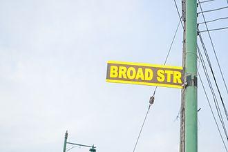 Broad Street, Lagos - Sign-Post of Broad Street, Lagos, Nigeria