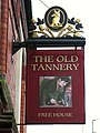 Sign for The Old Tannery - geograph.org.uk - 806857.jpg