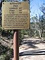 Sign on Berghofers Pass, Mount York.jpg
