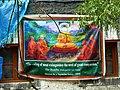 Sign promoting vegetarianism at Key Monastery, Spiti, India.jpg