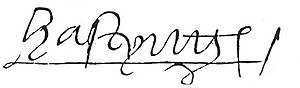 William Hastings, 1st Baron Hastings - Signature of William Lord Hastings