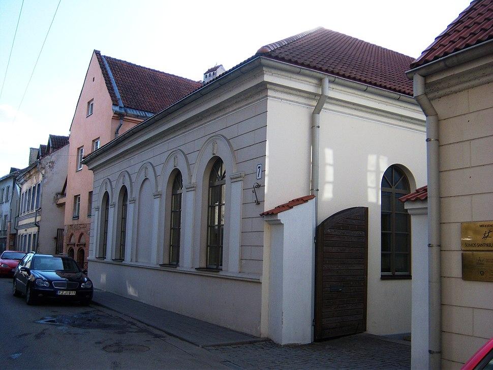 Sinagoga Zamenhofo 7