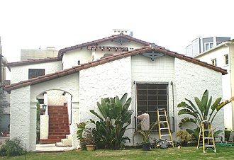 Allen Siple - Siple House in West Los Angeles (1930s). A Los Angeles Historic-Cultural Monument.