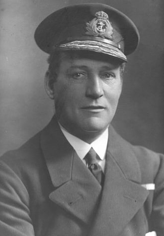 Godfrey Paine - Paine in the uniform of the Royal Navy