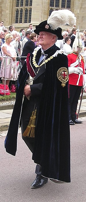 Timothy Colman - Colman in procession to St George's Chapel, Windsor Castle for the annual service of the Order of the Garter in 2006.