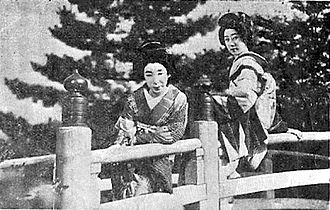 Sisters of the Gion - Scene from the film.