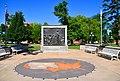 Site of the October 13, 1858 Lincoln-Douglas Debate -- Washington Park Quincy (IL) June 2018 (41922116665).jpg