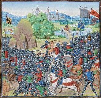 Battle of Roosebeke - Battle of Roosebeke (Jean Froissart, 1405)