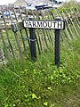 Small Yarmouth sign.JPG