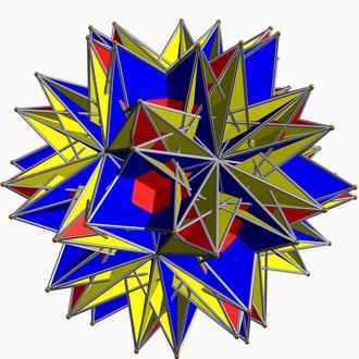 Small retrosnub icosicosidodecahedron - Image: Small retrosnub icosicosidodecahedro n