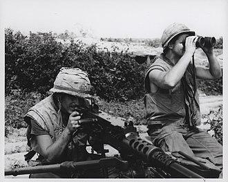 Operation Desoto - 3/7 Marines sniper team