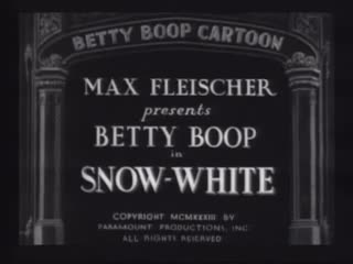 Image result for betty boop snow white