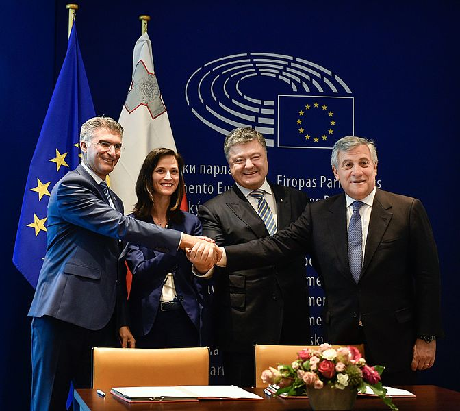 Solemn ceremony of signing the document on visa liberalisation with the EU for Ukrainians 04.jpg