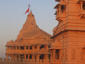 Conversion of non-Islamic places of worship into mosques - Somnath temple (present day; as reclaimed by Hindus), Somnath, India