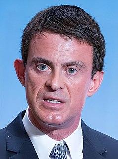 Manuel Valls Prime Minister of France (2014–2016)