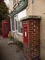 Sopley, postbox No. BH23 43 and phone box - geograph.org.uk - 1226326.jpg